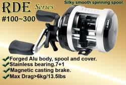 Osprey casting reels . Casting reels with magnetic casting brake.Available online at our FB shop front